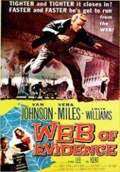 Beyond This Place (Web of Evidence). UK. Van Johnson, Vera Miles, Emlyn Williams Bernard Lee, Joan Kent. Directed by Jack Cardiff. 1959