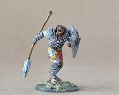 View DnD Character by ThePaintSmiths on Etsy Dungeons And Dragons Figurines, Dungeons And Dragons Miniatures, Warhammer Paint, Dragon Miniatures, Blue Magic, Dragon Figurines, Dnd Characters, Minis, The Incredibles