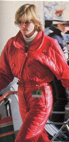 January 12, 1983: Prince Charles & Princess Diana skiing in Lech, Austria.