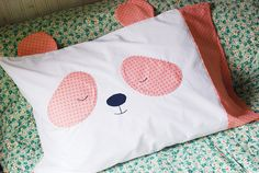 Pastel Panda Pillowcase