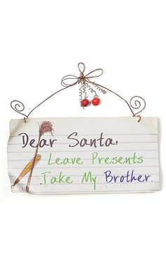 Cute Christmas Door Hanger