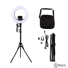 Camera Photo Studio Phone Video 18 inch 480 LED Ring Light Photography Dimmable Ring Lamp with Tripod Stand Photography Tools, Cute Photography, Photography Lighting, Led Ring Light, Lamp Light, Cheap Photographers, Ring Lamp, Ceiling Fan Chandelier, Home