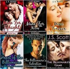 Românticos e Eróticos  Book: J.S. Scott - A Obsessão de um Bilionário #1 a #6