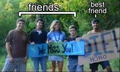 What is difference between #friend and best friend? #funny