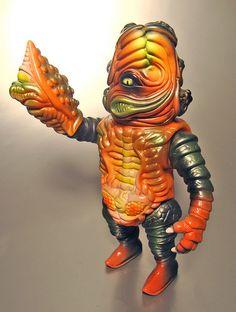 Candy Corn Salamander Joe NYCC2012 by Paulkaiju, via Flickr