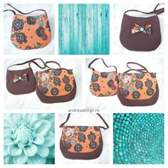 Custom made mom & daughter handbags. Colorful, chic and easy to wear.