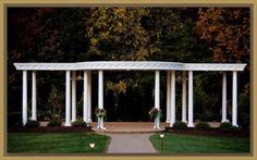 Castleton Farms bridal pavilion -Loudon, TN
