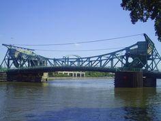 Jefferson Street Bridge... Joliet, Illinois... Built in 1932. Still in use
