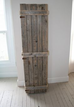LAST CHANCE Pallet Wood Cabinet by CamilleMDesigns on Etsy
