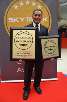 Malaysia Airlines Honoured 5-Star Airline Certification At The Skytrax Awards - Awards - etravelblackboardasia.com