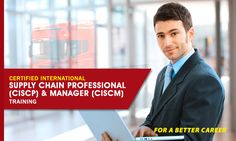 Certified International Supply Chain Professional(CISCP) & Manager(CISCM)