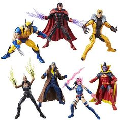 X-Men Marvel Legends Action Figures Wave 3 - Entertainment Earth Figure Photography, Toys Photography, Marvel Legends, X Men, Wave 3, Psylocke, Cosplay Costumes, Cosplay Ideas, Toy Collector