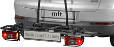 MFT 8200/BL multi-cargo2 family -Familienfreundlicher Fahrradheckträger AHK | FAHRRADTRÄGER | TRANSPORT | Kajak Kanu Elektromotor bei BeachandPool.de online kaufen Freundlich, Canoe