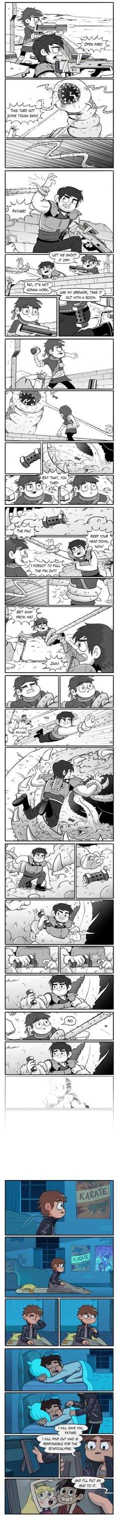 Star vs The Forces of evil-Ship War Au Part 10