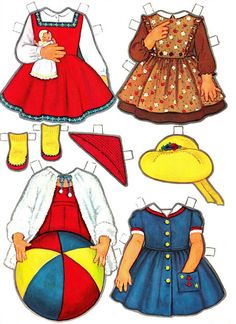 Paper Dolls~Vicky's New Clothes – Nena bonecas de papel – Picasa Nettalbum