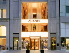 Chanel store Manhattans flagship