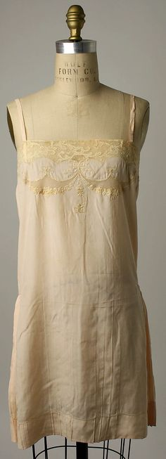 Click through for American Duchess:Historical Costuming: V350: 1920s Slips, Chemises, and Camisoles