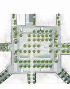 Re-Think Athens Winning Proposal,Omonia Square plan