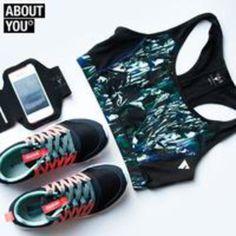 Wenn schon Sport dann im coolen Outfit. Oder was meint Ihr?  Die besten Trendteile für Dein nächstes Work-Out  #aboutyou #covetme