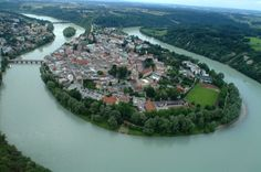Innschleife von Wasserburg