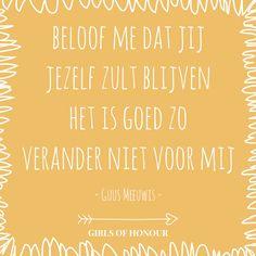 Heerlijk sentiment van Guus Meeuwis <3 // #liefde #liefdesquote #guusmeeuwis #smelt #quote #tegeltjeswijsheid #trouwen #verloofd #trouwblog #girlsofhonour  #huwelijk