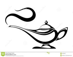 Illustration about Vector black silhouette of an Arabic genie lamp isolated on a white background. Illustration of heritage, myth, object - 95346307 Vinyl Cutting, Paper Cutting, Fantasy Logo, Genie Lamp, Aladdin Lamp, Disney Magic Bands, Wood Burning Crafts, Clipart Black And White, White Pencil