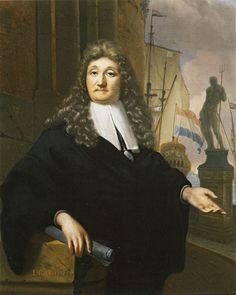 Ludolf Bakhuysen - Zelfportret (1690)