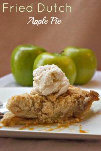 Fried Dutch Apple Pie - Brown Sugar
