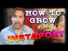 Instapoetry | Instagram: How To Grow As An Instapoet - YouTube Achieve Success, Instagram Tips, Content Marketing, Nonfiction, Writers, Poems, Channel, Author, Social Media