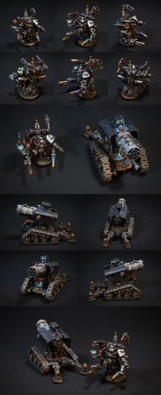 CoolMiniOrNot - Thunderfire - Black Templars by Azik