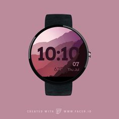 Mountains by Pavel SMOLIN - watchface for Android Wear