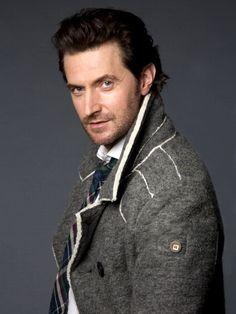 Richard in his bathrobe, uh coat. :-)