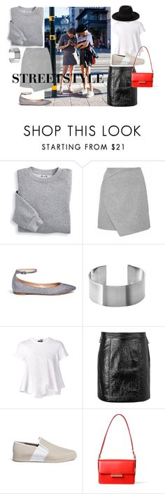 """""""Streetstyle #68"""" by romi-kella on Polyvore featuring Mercedes-Benz, Blair, Gianvito Rossi, Comme des Garçons, Marc by Marc Jacobs, Vince, Jason Wu and Maison Michel"""