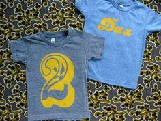 diy personalized retro kid shirts