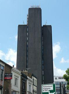 Brutalist buildings - Archway Tower