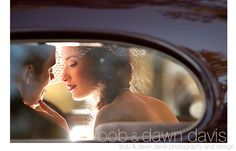Beautiful bride and groom color reflection, best of 2010, photo by Bob & Dawn Davis