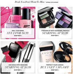 #Makeup #Deals You Don't want to Miss! Stock up now! https://krislingsch.avonrepresentative.com