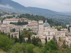 Assissi: Absolutely my favorite place in Italy. I have almost the exact same photo.