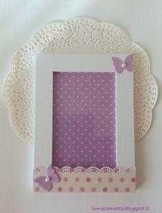Lumaca Matta - Handmade with love: Cornice bimbi