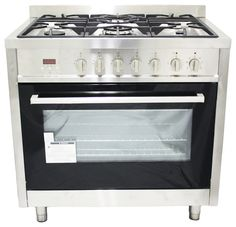 """36"""" Dual Fuel Freestanding Range with Electric Oven modern-gas-ranges-and-electric-ranges"""