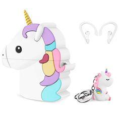 Unicorn Airpod Earbud Case Cover   Unicorn Gifts   Buy Online – All Things Unicorn Unicorn Rooms, Unicorn Gifts, Cute Baby Dogs, Cute Babies, Cute Popsockets, Unicorn Ears, Baby Girl Birthday Dress, Loli Kawaii, Travel Snacks