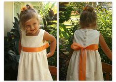 Little girls ivory eyelet dress 03 months 1218 by sunshinecreated, $40.00