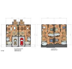 31205 - Duplex (2 unités) - Plans de multilogements - Nos plans ...