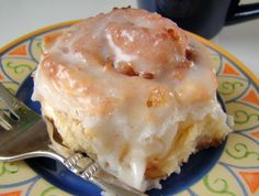 A lot quicker than cinnamon buns with a to-die-for taste. -- great idea for last minute guests.
