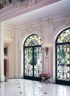 Villa Grazia Foyer - Palm Beach, Jeffrey W. Smith architect | classical  addiction