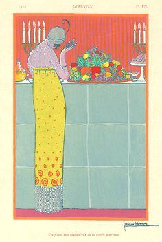 Art Decco Fashion Illustration- Georges Lepape (1887-1971)