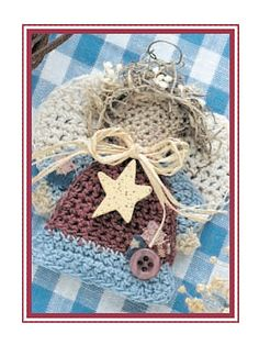 Crochet Accessories - Crochet Jewelry Patterns - Country Cutie Pins
