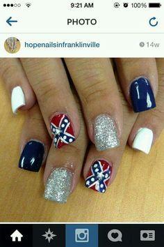 Confederate Nails