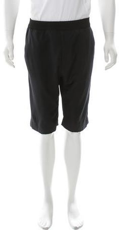 3.1 Phillip Lim Virgin Wool Flat Front Shorts Men's Shorts, 3.1 Phillip Lim, Rib Knit, Flats, Wool, Stylish, Fashion, Loafers & Slip Ons, Moda