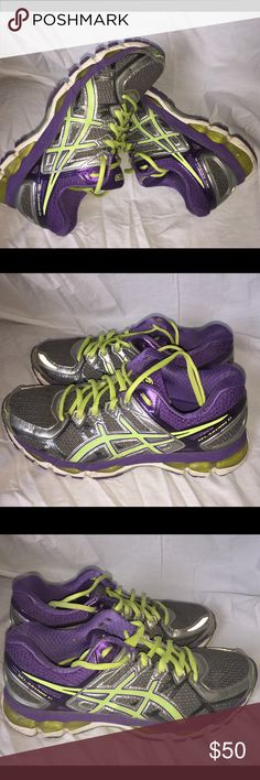 Women's ASICS Gel Kayano 21 size 9 Gently used Asics Shoes Sneakers